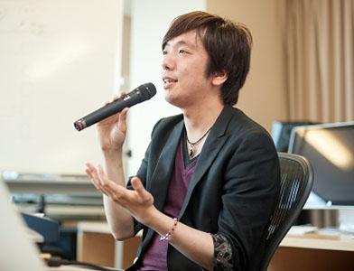 バンタンゲームアカデミー 特別授業 講演風景⑤